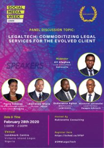 LegalTech Panel Session for SMWLagos.