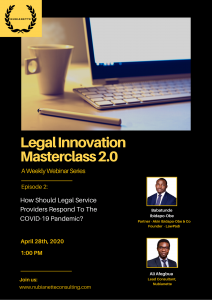 Legal Innovation Masteclass 2.0