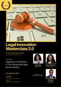 Legal Innovation Masterclass 2.0